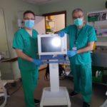Grupo Lamucca dona, a través de la Fundación, 4 respiradores al Hospital Universitario 12 de Octubre