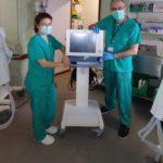 Grupo Lamucca dona, a través de nuestra Fundación, 4 respiradores al Hospital Universitario 12 de Octubre